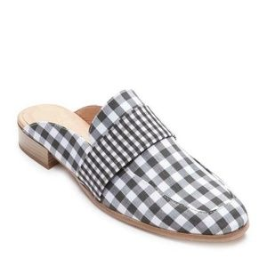 NEW Free People At Ease Gingham Check Loafer